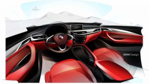 Салон будущего BMW X2
