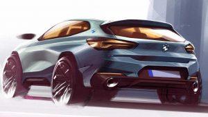 Скетчи и эскизы BMW X2