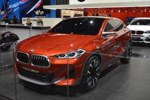 Фото концепт-кара BMW X2