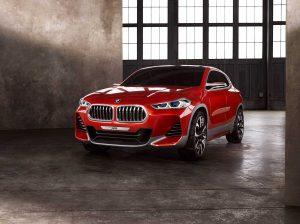 Фото будущего автомобиля BMW X2