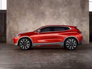 Фото будущего кроссовера BMW X2