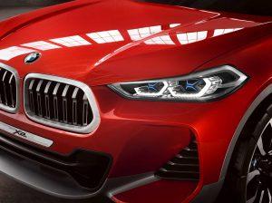 Фотография концептуального автомобиля BMW X2