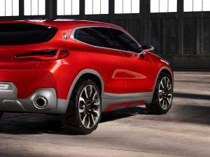 Фотография будущего автомобиля BMW X2