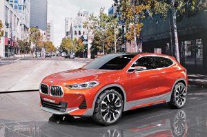 Концептуальный автомобиль BMW X2