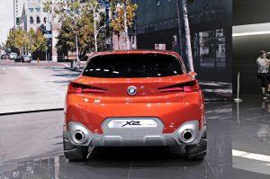 Фото концептуального автомобиля BMW X2