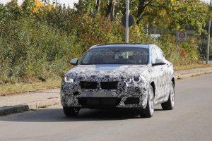 Шпионские фото BMW X2