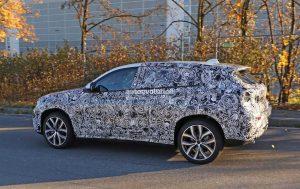 шпионские фотографии автомобиля BMW X2