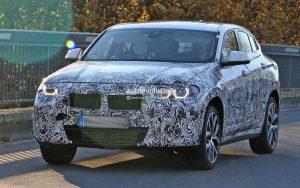 шпионские фото кроссовера BMW X2