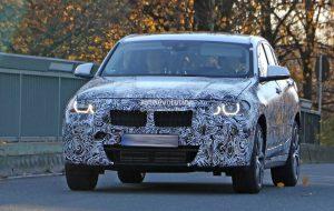 шпионские фотографии кроссовера BMW X2