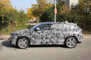 фото BMW X2 на испытаниях
