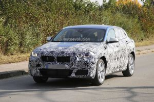 фотографии BMW X2 на испытаниях
