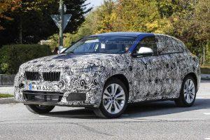 фотографии BMW X2 в камуфляже
