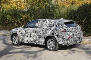 шпионские фотографии BMW X2