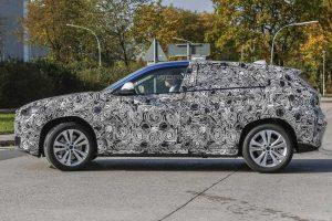 BMW X2 в объективе фотошпионов