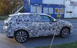 кроссовер BMW X2 в объективе фотошпионов