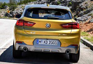 Экстерьер нового BMW X2