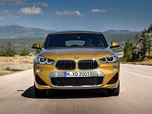 Экстерьер BMW X2