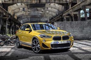 Фото экстерьера нового BMW X2