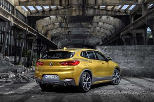 Кузов нового BMW X2
