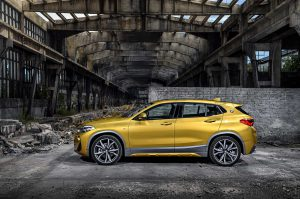 Фото кузова нового BMW X2