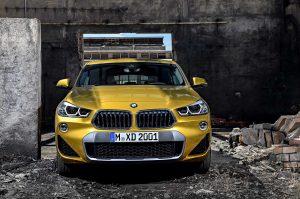 Фотографии нового автомобиля BMW X2