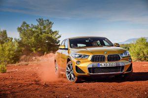 Фотографии нового кроссовера BMW X2