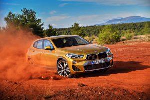 Фото нового авто BMW X2