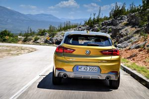 Фотографии нового авто BMW X2