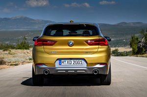 Внешний вид BMW X2
