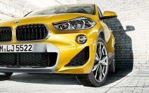 Внешний вид нового BMW X2