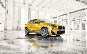Фото внешнего вида нового BMW X2