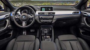 Фото салона нового автомобиля БМВ Х2