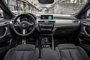 Фото салона купе-кроссовера BMW X2