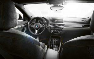 Фото салона спортивного кроссовера-купе BMW X2