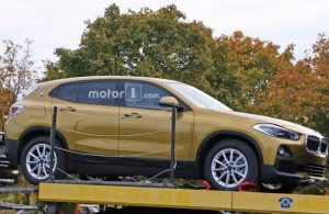 Фотошпионы сфотографировали BMW X2 без камуфляжа