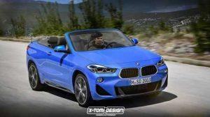 Дизайнеры нарисовали свое видение кабриолета и пикапа BMW X2