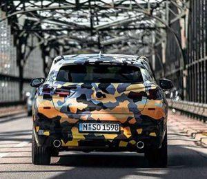 Примерно за месяц до премьеры серийной версии BMW X2 в сети появились фотографии автомобиля