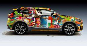 Жительница Курска разработала уникальный дизайн BMW X2