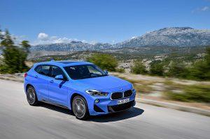 Фото кузова кроссовера BMW X2