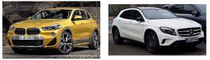 Кроссовер BMW X2 уступает по продажам Mercedes-Benz GLA