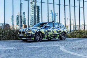 Появились новые фото BMW X2