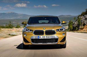 В сети появились фотографии нового BMW X2