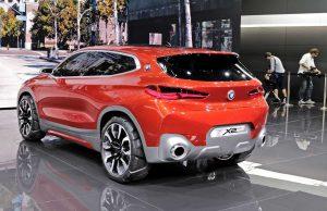 На автомобильном салоне в Париже презентовали концепт BMW X2
