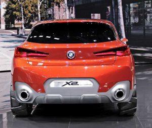 В Париже прошла презентация концептуального кроссовера BMW X2