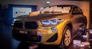 Премьера BMW X2 в «Рус Моторс»