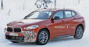 На дорожных тестах замечен автомобиль BMW X2 M35i