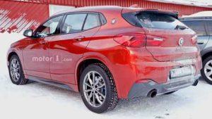 Фотошпионы подловили на дорожных испытаниях кроссовер BMW X2 M Performance