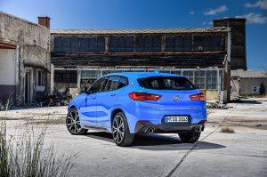 Фото кузова автомобиля BMW X2