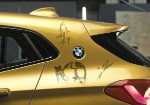 Итальянское подразделение готовится версия BMW X2 Rebel Edition с «татуированным» кузовом