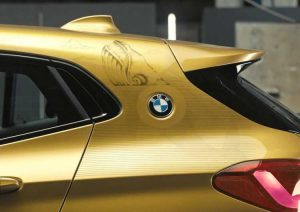 Новая версия кроссовера BMW X2 Rebel Edition